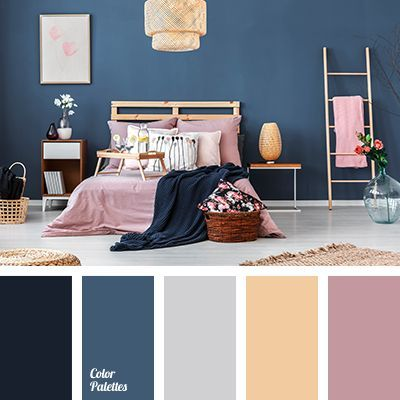 Dusty Pink Color Of Tree Cyan Color Palettes Dark Cyan Dark Pink Gray Light Wood Color Pastel Pink P Bedroom Color Schemes Room Colors Bedroom Colors