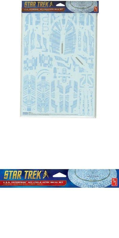 Aztec Decal für Star Trek USS Enterprise NCC-1701-D 1:1400 Model Kit AMT MKA019