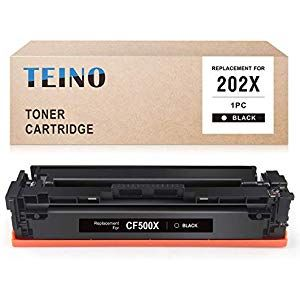 Teino Compatible Toner Cartridge For Hp 202x Cf500x 202a Cf500a For Color Laserjet Pro Mfp M281fdw M281cdw M280nw Color Laserjet P Graphic Card Drum Kits Toner