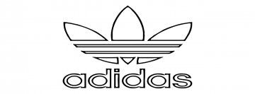 Dibujos Para Colorear De Marcas Adidas Adidas Drawing Logo Outline Cartoon Coloring Pages