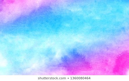 Blue Purple And Pink Shades Watercolor Background For Vintage