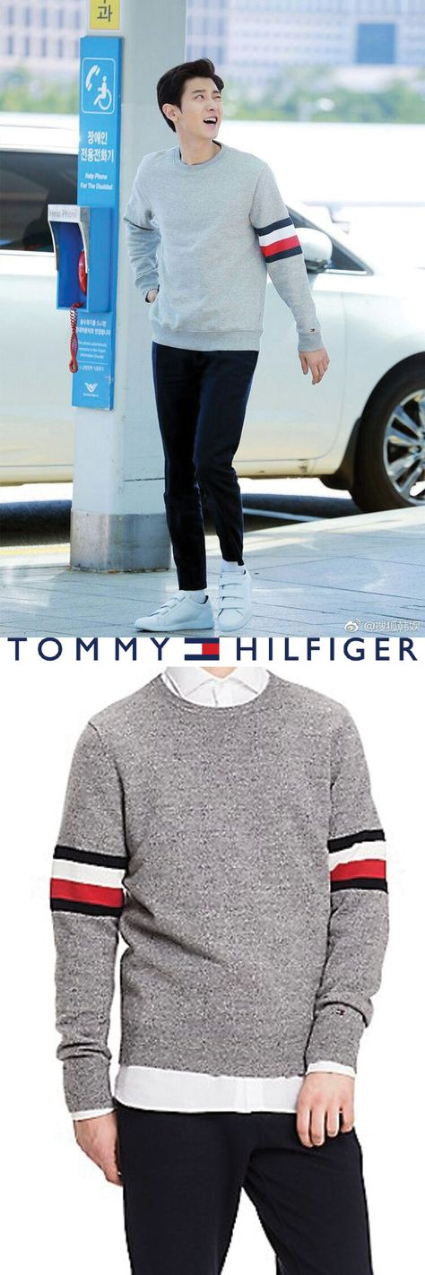 fashion chanyeol exo Tommyhilfiger...