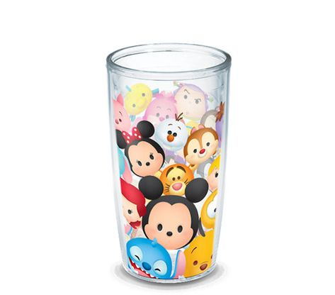 Hydrate and show your lighter side with the colorful and fanciful visuals of the Disney Tsum Tsum Stack Wrap Tumbler from Tervis®. Features double-walled insulation to keep cold drinks cold and hot drinks hot longer.