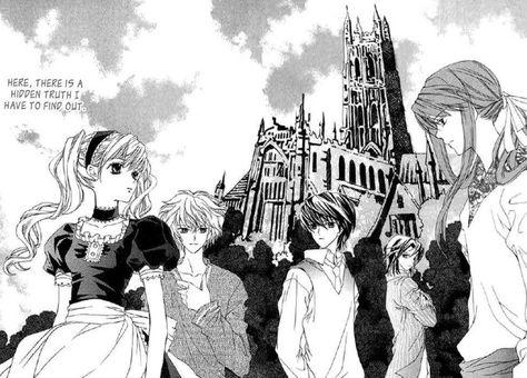 A Kiss To My Prince Shoujo Reverse Harem Manga Anime