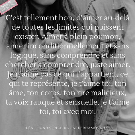 Aimer à plein poumon, inconditionnellement et sans logique 🎈 . . . . . . #parlerdamour ❤️ #quotes #quoteoftheday #citationamour #citation #citationdujour #penseedujour #developpementpersonnel #amour #bienetre #triste #texte #phraseoftheday #phrasedujour #bestoftheday #love #lovequotes #amour #carpediem #instacitation #ecriture #ecrirepourexister #texteamour #triste #tristesse #motsdamour #ecrivain