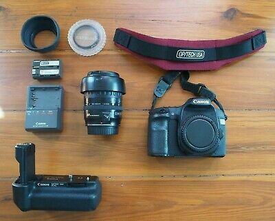 Ad Canon Eos 40d 10 1mp Digital Slr Camera W 35 135mm Ultrasonic Zoom Lens Grip Digital Slr Camera Zoom Lens Digital Slr