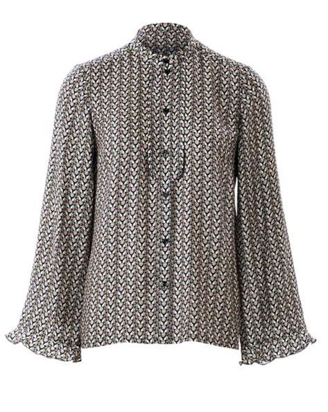Victorian-esque Burda Style blouse pattern - digital download