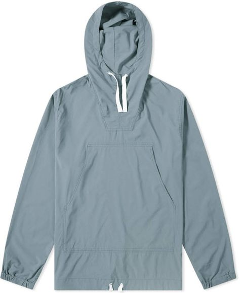 Buy the Beams Plus Mil Smock Jacket in Slate Blue from leading mens fashion retailer END. - only Fast shipping on all latest Beams Plus products.
