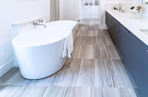 Is Radiant Floor Heating In A Bathroom Worth The Cost In 2020 Radiant Floor Radiant Floor Heating Bathroom Flooring Trends