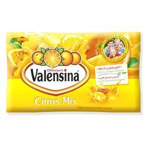 Valensina Citrus Mix Einzeln Gewickelte Orangen Und Zitronenbonbons Mit Wertvollen Vitaminen Und Flussiger Full Susswaren Fruchtsaft Sussigkeiten Aus Aller Welt
