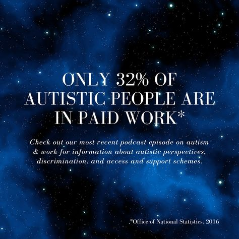 Did you know this shocking fact about autistic people in work? Check