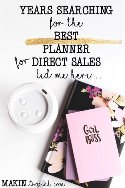 Years Searching For The Best Direct Sales Planner Led Me Here | Makin It Social