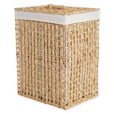 Lamont Home Asia Hamper In Natural Bed Bath Beyond 59 99