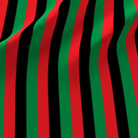 Colorful Fabrics Digitally Printed By Spoonflower Red Black Green Pan African Flag Vertical Half Inch In 2020 American Flag Colors African Flag Pan African Flag