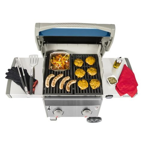 Weber Spirit Ii E 210 2 Burner Propane Gas Grill With Side Shelves Reviews Wayfair Propane Gas Grill Gas Grill Weber Grill Cover
