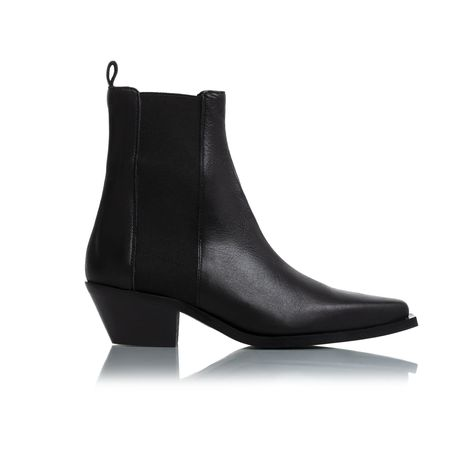 Virginia Black Leather Ankle Boots Black Leather Ankle Boots Leather Ankle Boots Boots