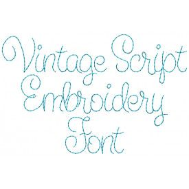 Only Hope Embroidery Font Embroidery Fonts Vintage Script Fonts Embroidery Monogram