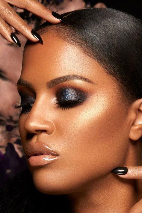 Shayla x ColourPop - Perception Pressed Powder Eyeshadow Palette blue look