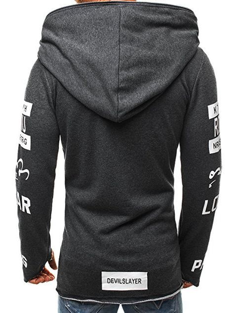 OZONEE Herren Sportjacke Sweatshirt Assanin's Hoodie