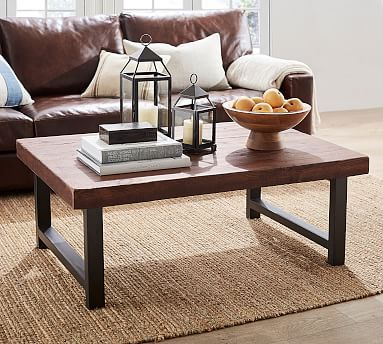 Griffin Grand Coffee Table Coffee Tables Side Tables End Tables Pottery Barn Coffee Table Design Reclaimed Wood Coffee Table Coffee Table Pottery Barn