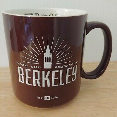Peets Coffee Mug Born And Brewed In Berkeley City Ca Ceramic Cup Tea 16 Oz Brown Ebay Peets Coffee Mugs Coffee Mugs