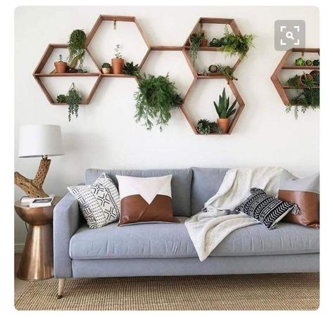 Fun wall decoration for living areas