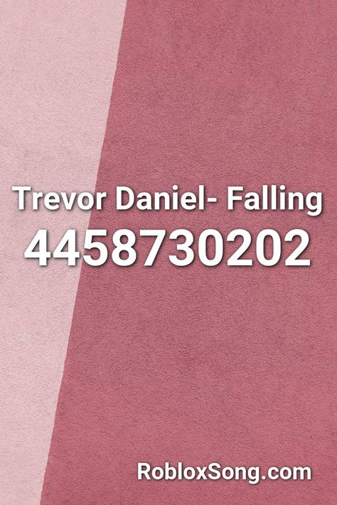 Dababy Roblox Codes Trevor Daniel Falling Roblox Id Roblox Music Codes In 2020