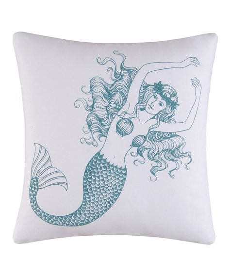 Love this Mermaid Pillow on #zulily today!