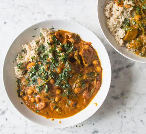 Sweet Potato and Chickpea Stew | Deliciously Ella
