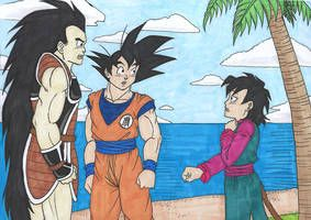 Db Family Reunion By Isabellafaleno Anime Dragon Ball Dragon Ball Art Dragon Ball Image