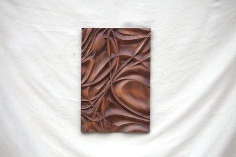 Wood wall art, home decor wall sculpture, bas relief wall panel, wood wall sculpture, woodcarving, Free shipping - #decor #panel #relief #sculpture #shipping #woodcarving - #WoodSculpture