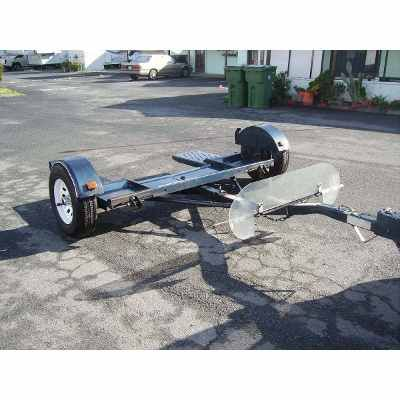 Construye Dolly Trailer Carrito Para Remolcar Autos Plano 180 00 Trailer Dolly Cargo Trailers Trailer Coupler