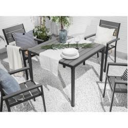 4 Sitzer Gartengarnitur Zaina In 2020 Esstisch Gartentisch