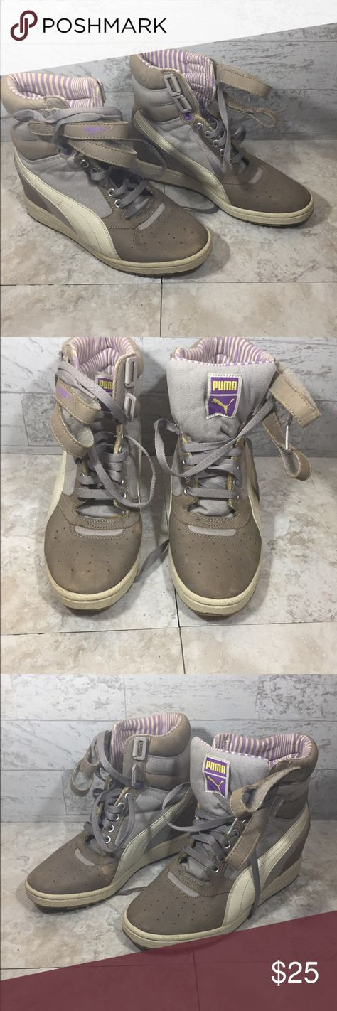 620b7cefefb Puma Sky Hidden Wedge This product is Puma Sky Hidden Wedge Women s Size  8.5 Hightop Sneaker