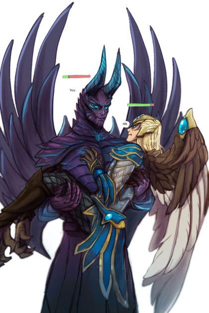 Relationship Between Tb And Skymage Dota 2 Art Fan Art