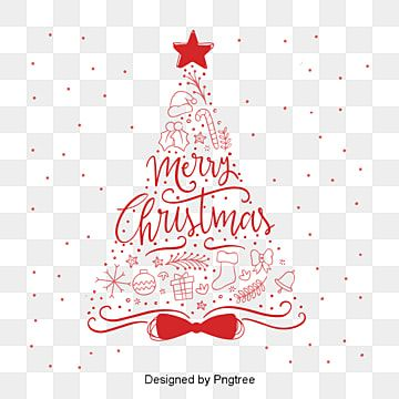 Red Drawn Christmas Christmas Christmas Gift The Png And Vector With Transparent Background For Free Download Red Christmas Background Merry Christmas Background Christmas Poster