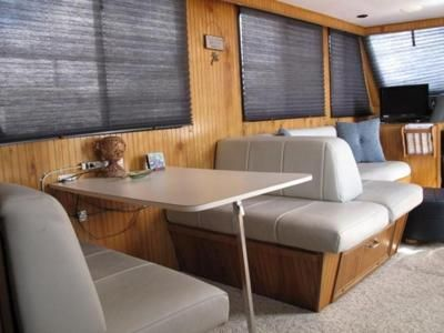 Houseboat Furniture love this tablebedsleepersofa layout We