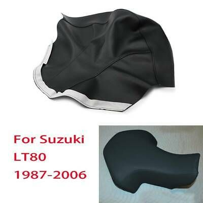 For Suzuki LT80 1987-2006 Quadsport 80 ATV New Seat Cover Black