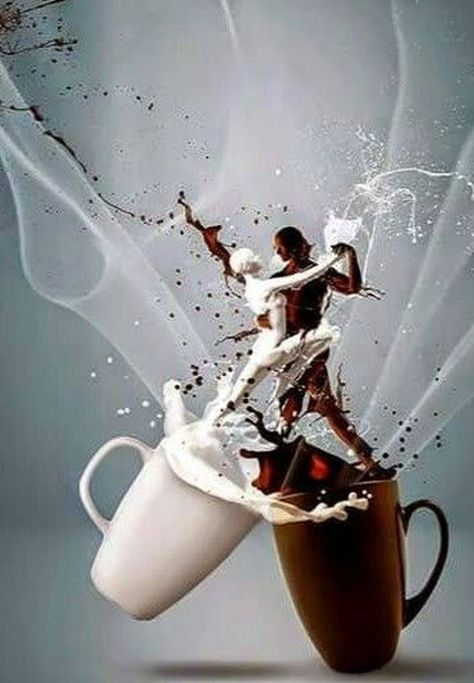 Love My Morning Coffee!  It's just like a wonderful little dance in my system!