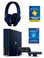 playstation 4 pro 2tb 500 million limited edition console gamestop