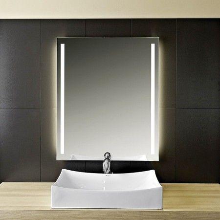 Led Valled Badspiegel Badspiegel Beleuchtet Badezimmerspiegel