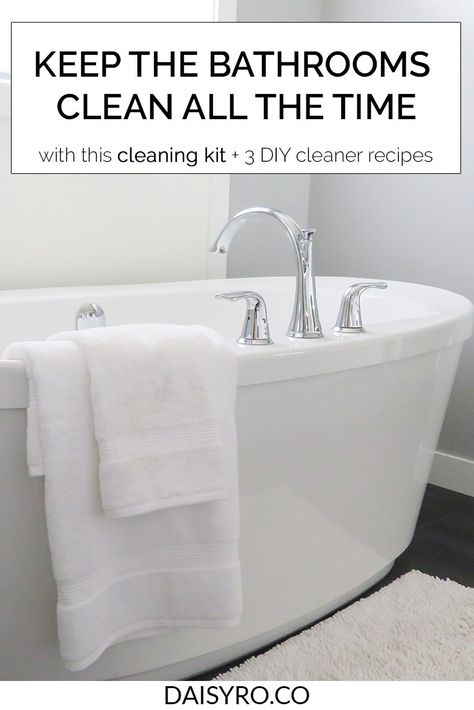 Create Your Own Bathroom Cleaning Kit Bathroom Cleaning