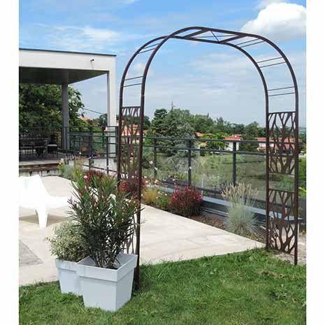 Portail Arche Tonnelle Pergola Portillon De Jardin Decoratif 5 25m L Arche Jardin Tonnelle Pergola Portillon Jardin