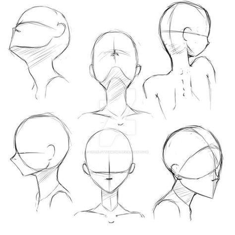 Como Dibujar Caras Y Cabezas De Mujer Y Hombre Facilmente El