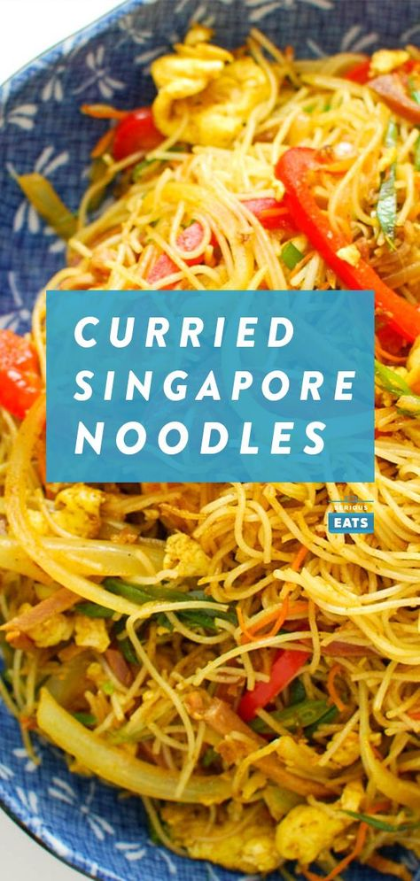 Curried Singapore Noodles Probably Not From Singapore