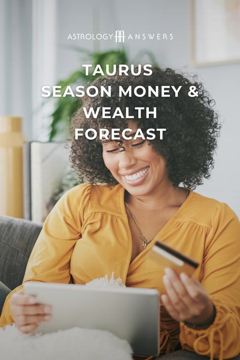 Taurus season is fast approaching! Soon, the Sun moves into Taurus, and we enter the season of steadfast energy, sensuality, and security. #astrology #forecast