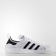 adidas - Superstar 80s Primeknit Slip-on Shoes