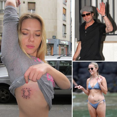 Over 100 Memorable Celebrity Tattoos
