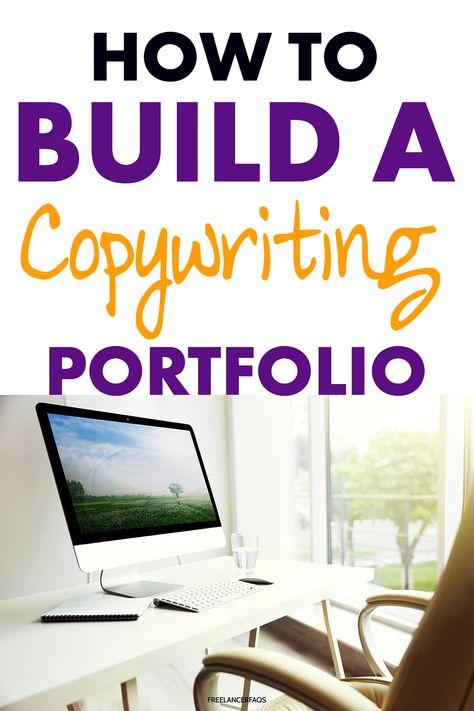 How Do I Build a Copywriting Portfolio? - Freelancer FAQs