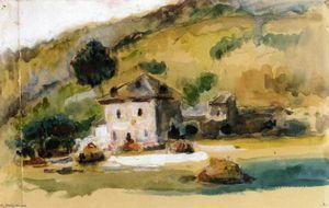 Paul Cezanne Near Aix En Provence Paul Cezanne Paul Cezanne Paintings Art